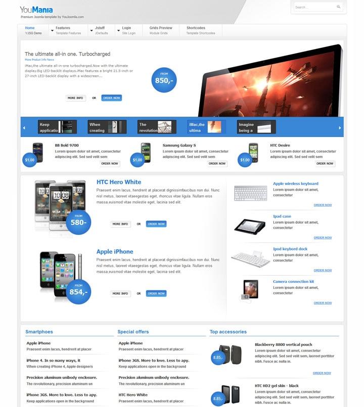 Businesses joomla 351 - бизнес сайт для вашей компании