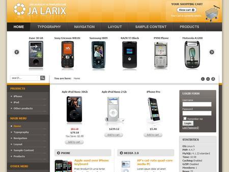 Joomla интернет магазин скачать шаблон - фото 8