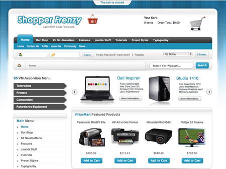 Joomla интернет магазин скачать шаблон - фото 3