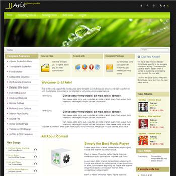 JJ_Ario - template joomla
